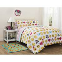 EmojiPals Bed in a Bag Bedding Set Online Only - Walmart.com