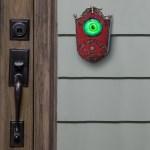 Eyeball Doorbell Animated Halloween Decoration Walmart Com Walmart Com