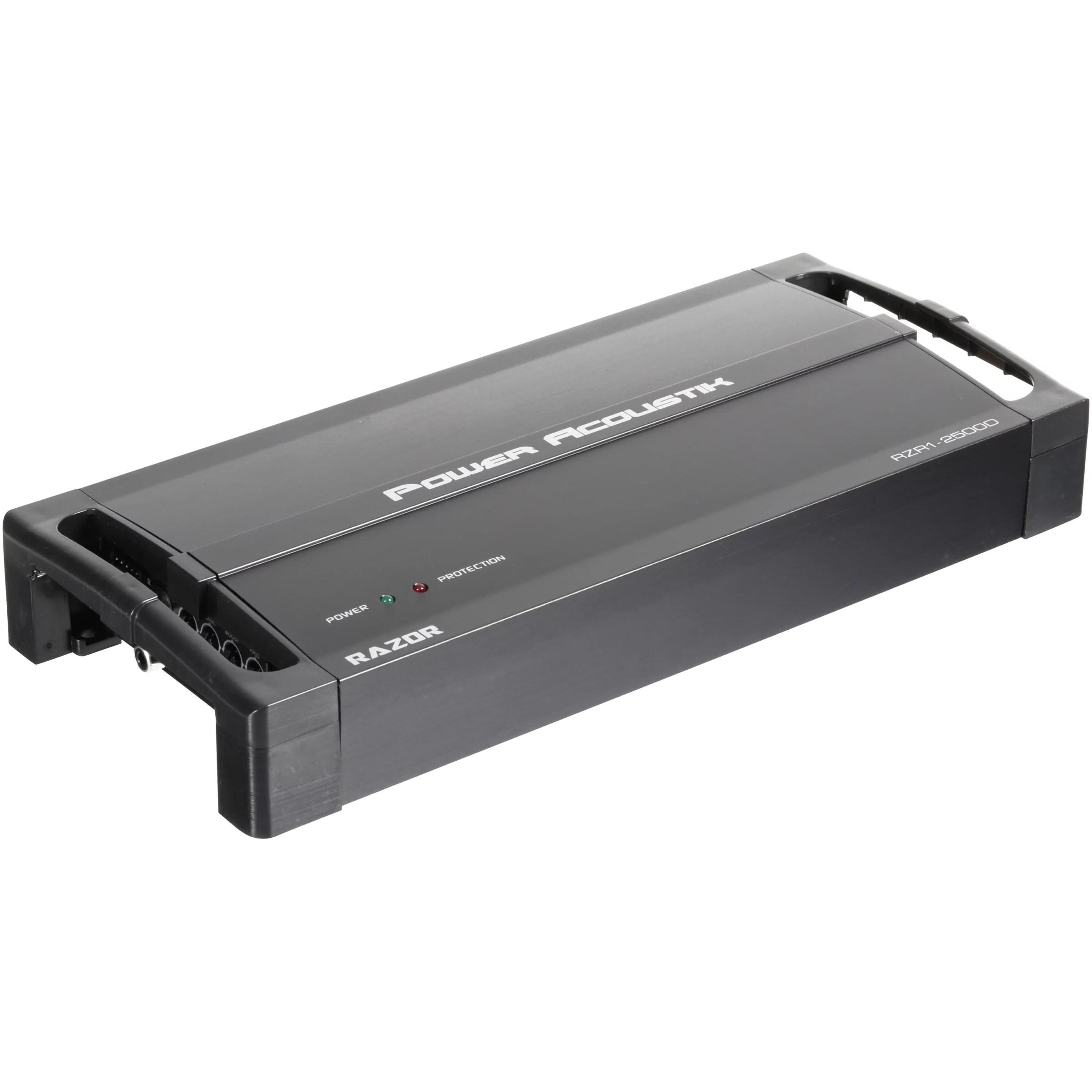 power acoustik 2 ohm 2 500 watt max subwoofer amplifier 5 pc box power acoustik akit8 amplifier wiring kit 8gauge walmartcom [ 2400 x 2400 Pixel ]
