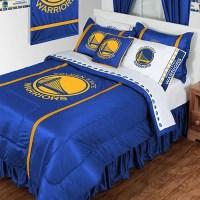 NBA Golden State Warriors Bedding Set Basketball Comforter