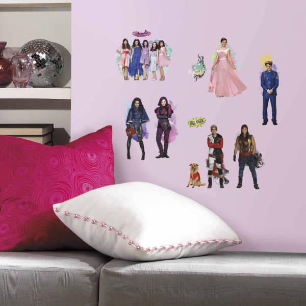 Roommates Descendants Peel And Stick Wall Decals 2 Pack