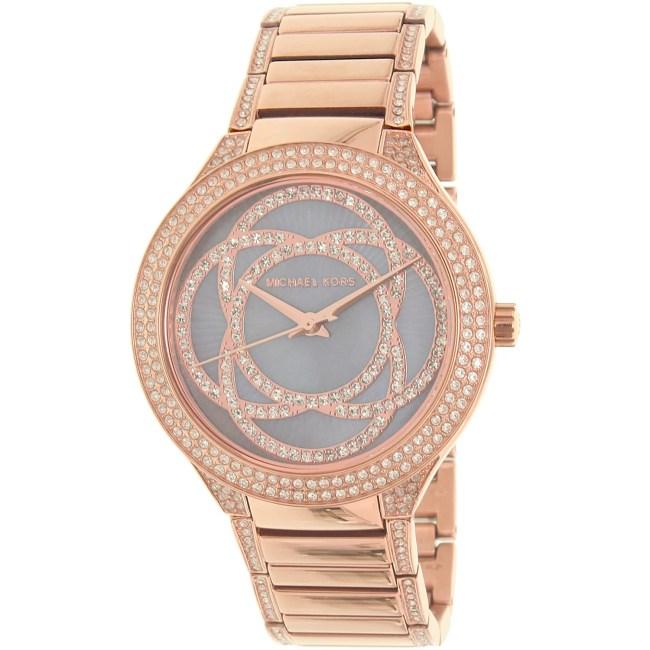 Michael Kors Women's Kerry MK3482 Rose Gold Stainless-Steel Quartz Fashion Watch