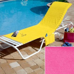 Walmart Deck Chair Covers Foldable Portable The Lakeside Collection Terry Cloth Com