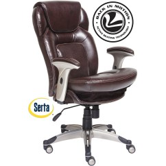 Serta Office Chair Warranty Claim Rocking Outdoor Executive Bonded Leather Biscuit Brown Walmart Com