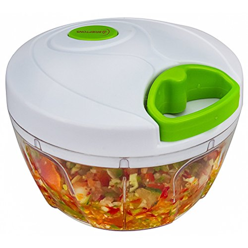 Brieftons Manual Food Chopper Compact & Powerful Hand ...