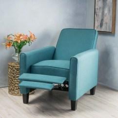 Dark Teal Accent Chair Bulk Satin Covers Noble House Arden Fabric Recliner Walmart Com