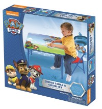 PAW PATROL JR. ACTIVITY TABLE SET W/1 CHAIR - Walmart.com