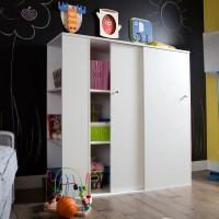 South Shore Crea Kids Storage Cabinet with Sliding Doors ...