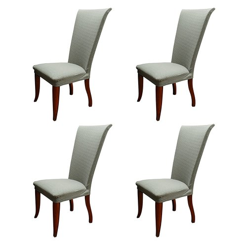 basket weave dining chairs office chair walmart charlton home stretch polyester slipcover this button opens a dialog that displays additional images for product with the option to zoom in or out