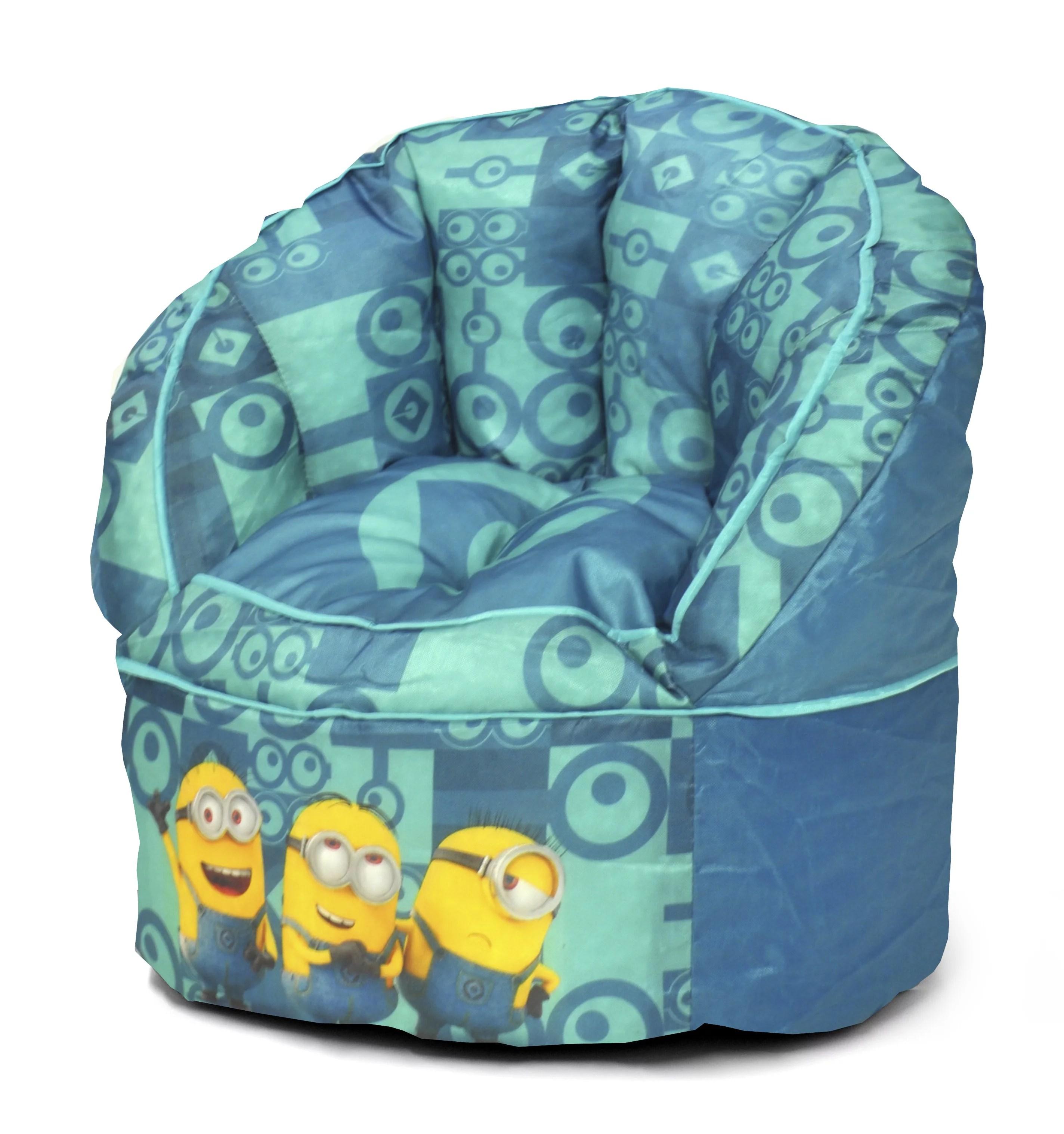 toddler bean bag chairs top computer minions kids chair walmart com