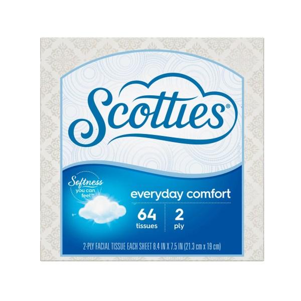 Scotties Everyday Comfort 2ply Unscented Hypoallergenic