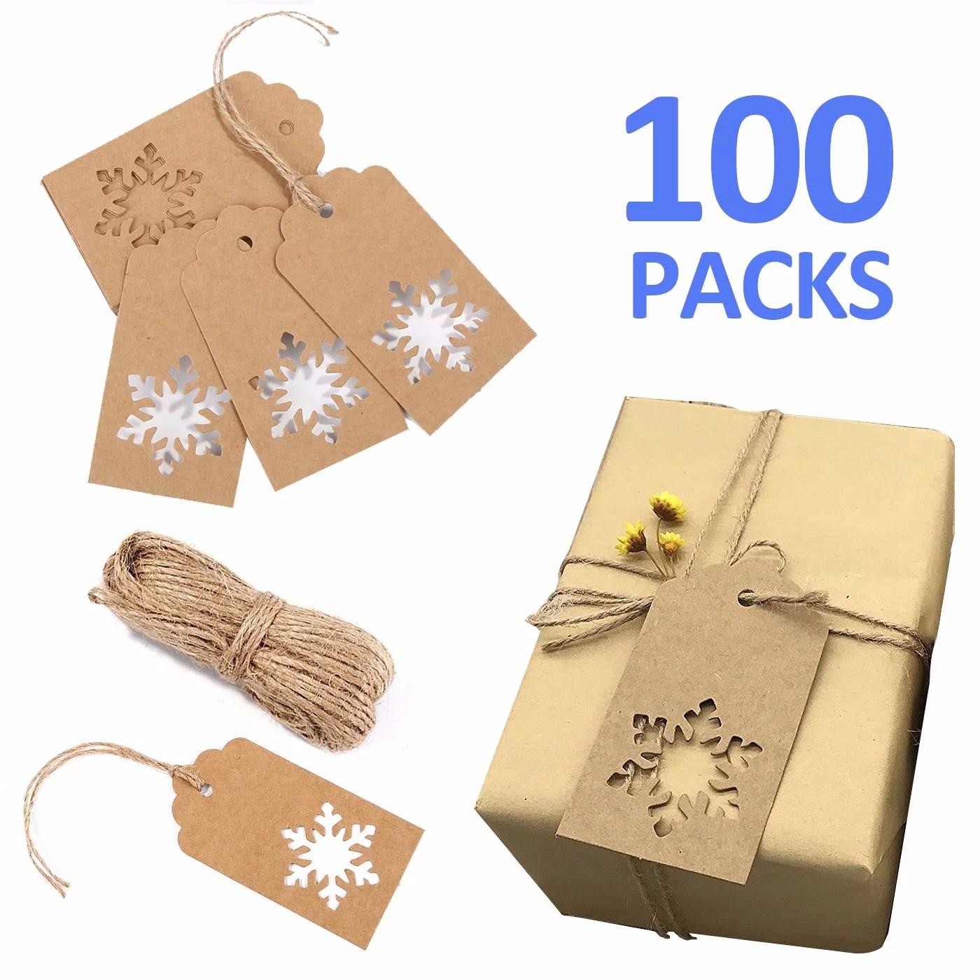 paper tags kraft gift