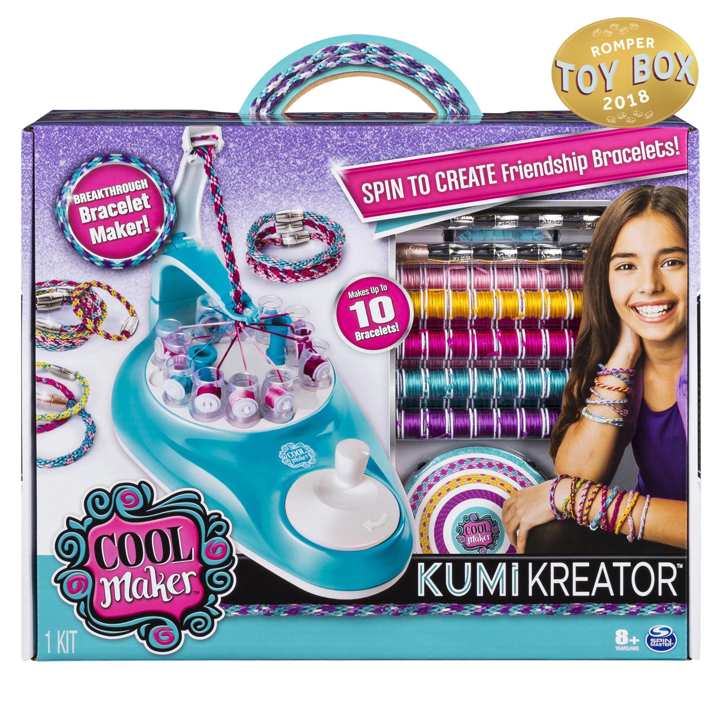 Cool Maker Kumikreator Friendship Bracelet Maker Kit For