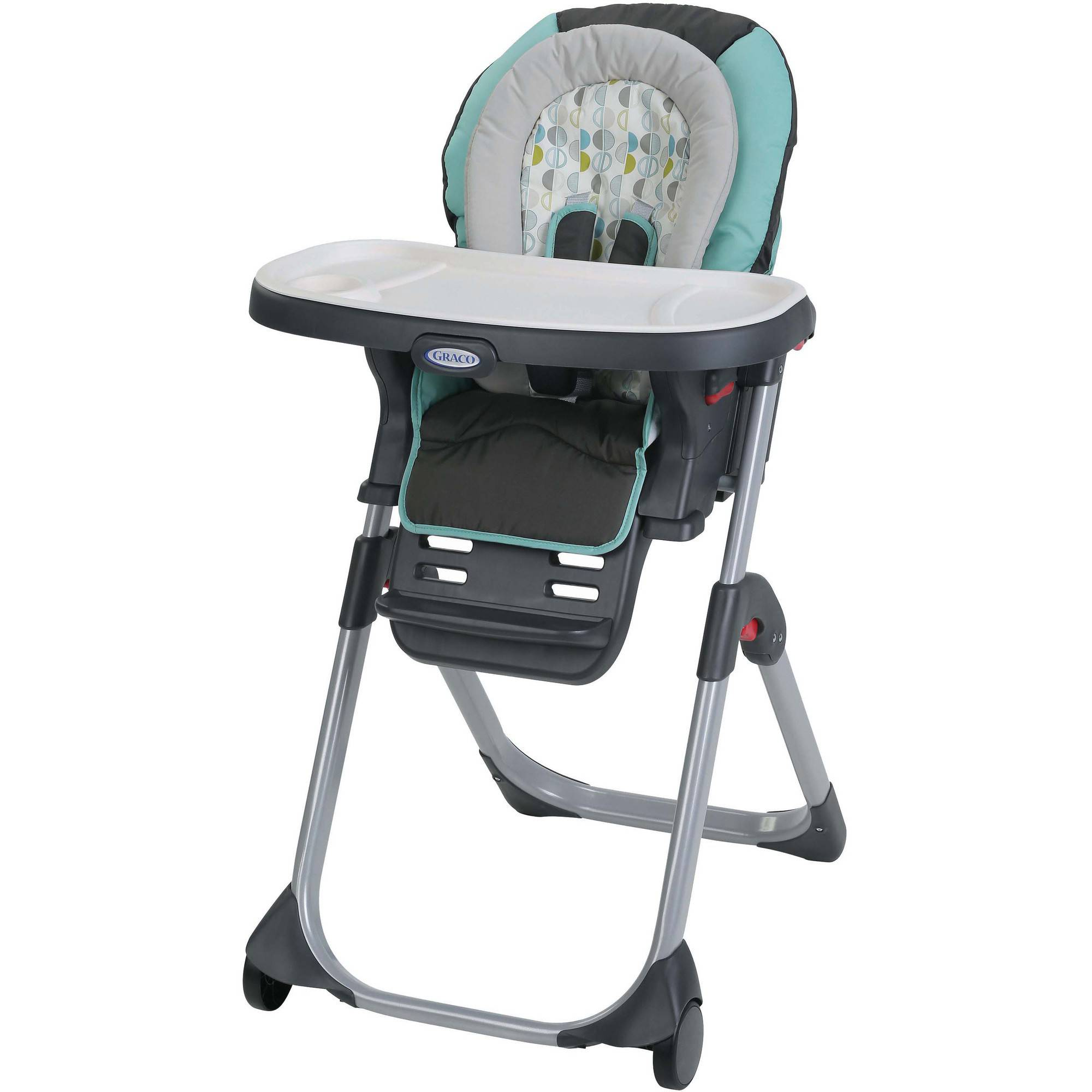 graco duodiner lx high chair library ladder australia 3 in 1 convertible groove walmart com