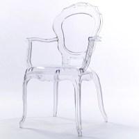 2xhome Clear Transparent Modern Ghost Chair Armchair ...