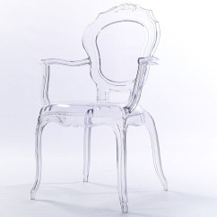 Ghost Chairs Cheap Chair Rentals Nyc 2xhome Clear Transparent Modern Armchair Vanity Dining Room Lounge Acrylic Molded Mirrored Furniture Desk