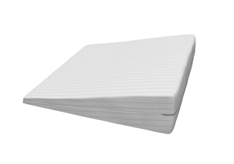 advanced sleep solutions gel memory foam wedge pillow for acid reflux gerd