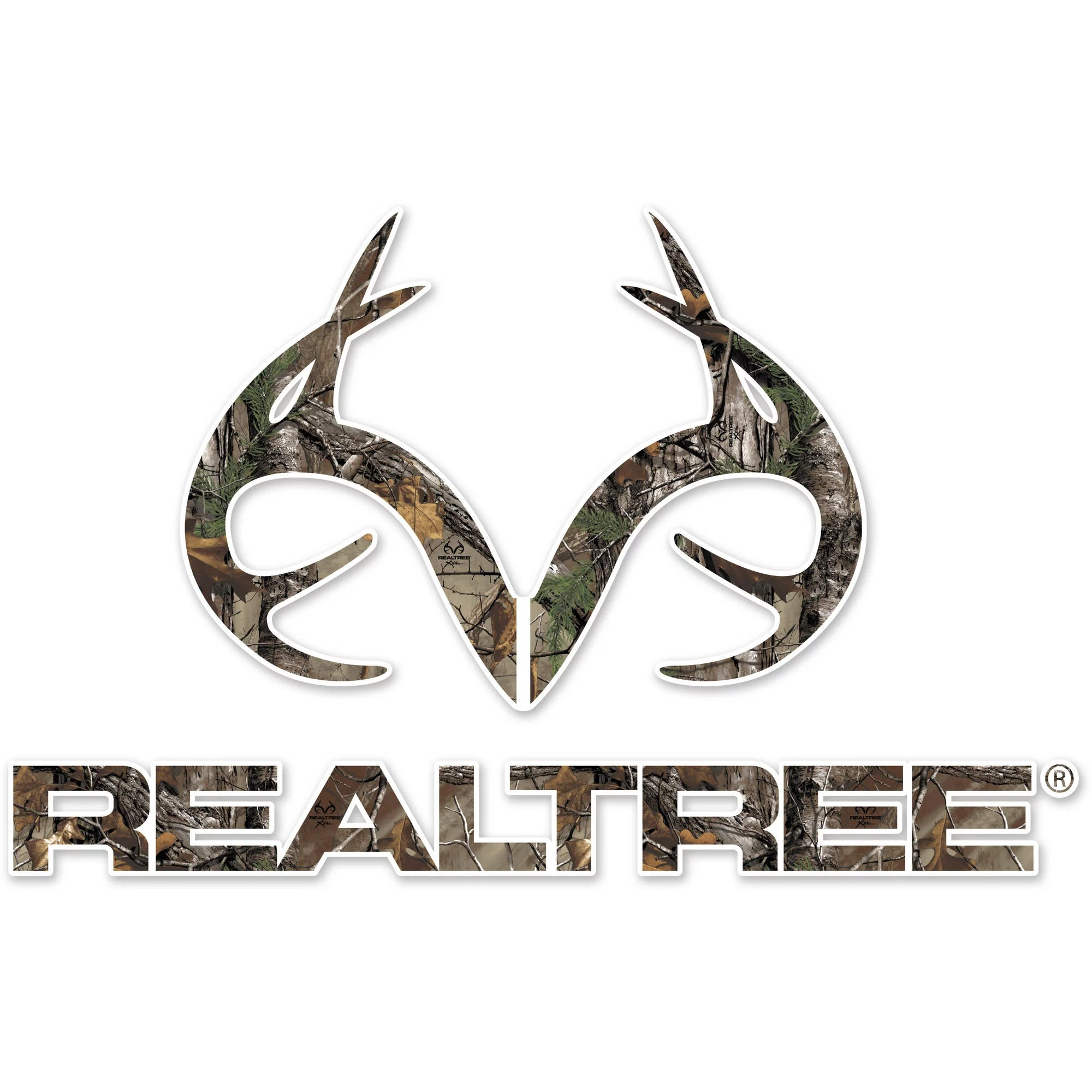 realtree antler logo large