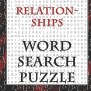 Relationships Word Search Puzzle 300 Words Medium To
