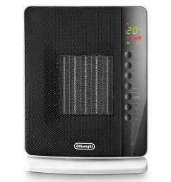 delonghi dch7093er digital flat panel ceramic heater with remote control walmart com [ 1440 x 1080 Pixel ]