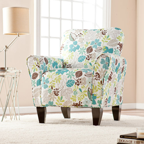 Wynona Accent Arm Chair Floral Walmartcom