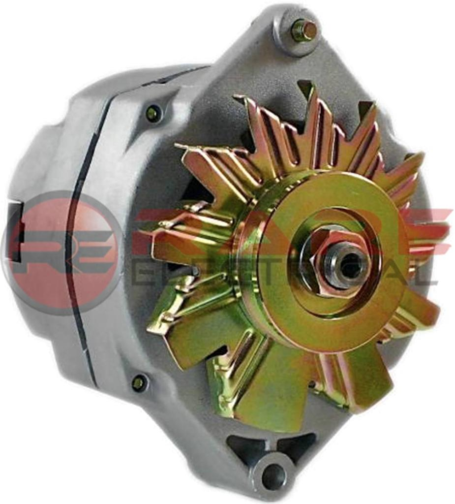 hight resolution of  new alternator fits 10si delco 1 wire self energizing hookup 50 amp delco 1 wire