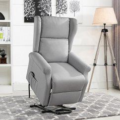 Home Meridian Lift Chair Repair Bride And Groom Signs Recliners Walmart Com Product Image Power Recliner Chairs Linen Living Room Reclining Armchair Light Grey