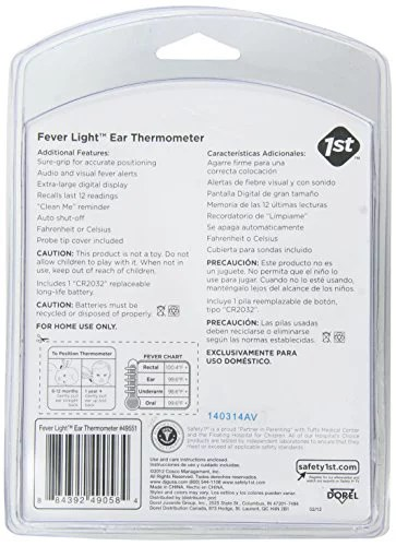 also safety st fever light second ear thermometer walmart rh