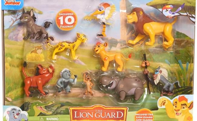 Disney The Lion Guard Deluxe Pride Lands 10 Figure Set