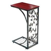 Gramercy Elegant Metal Side Sofa Table  Butterfly Design ...