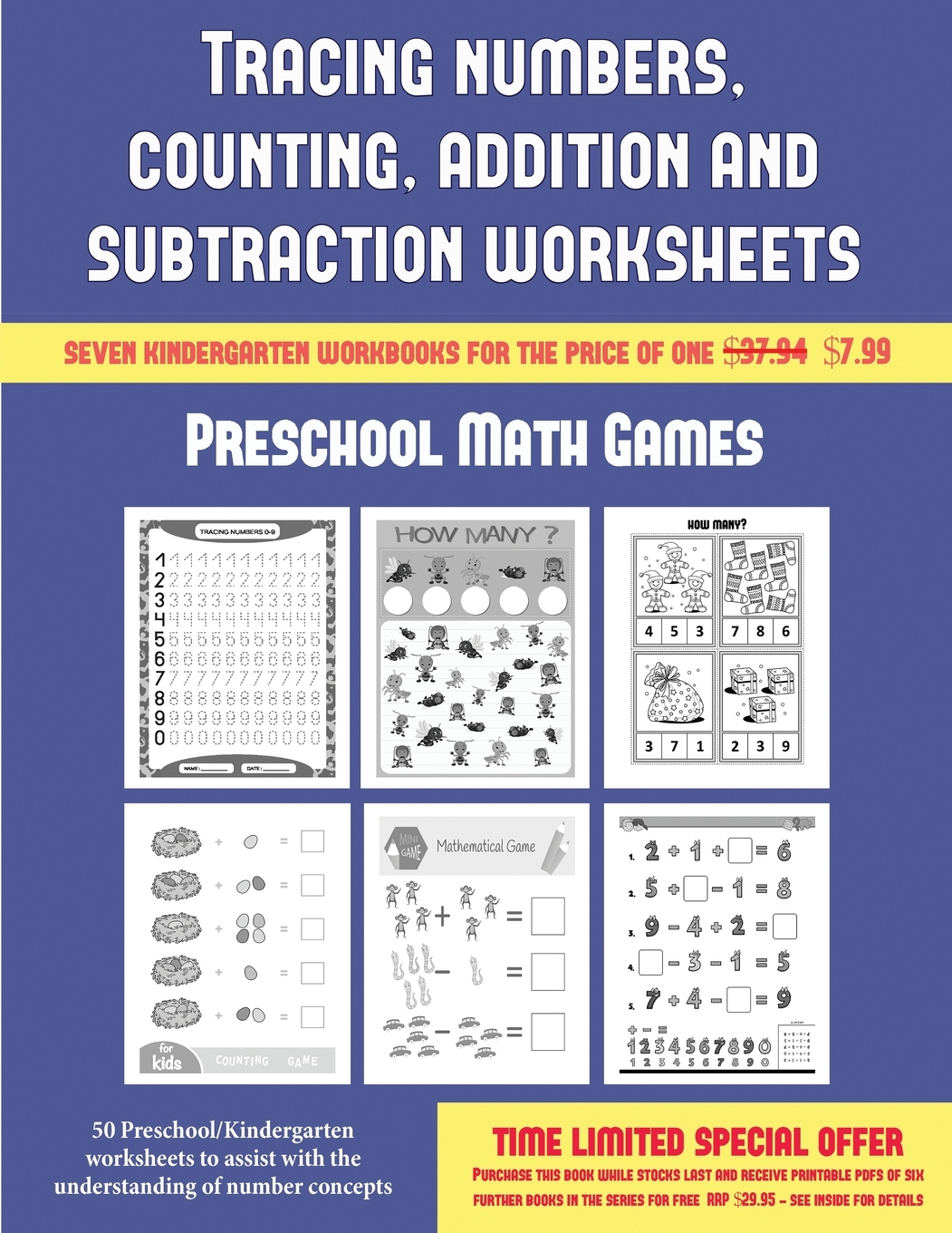Preschool Math Games Tracing Numbers Counting Addition