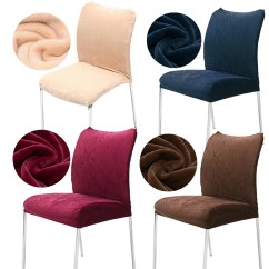 Chair Seat Covers With Elastic Dining Set 8 Chairs 2pcs Stretch Washable