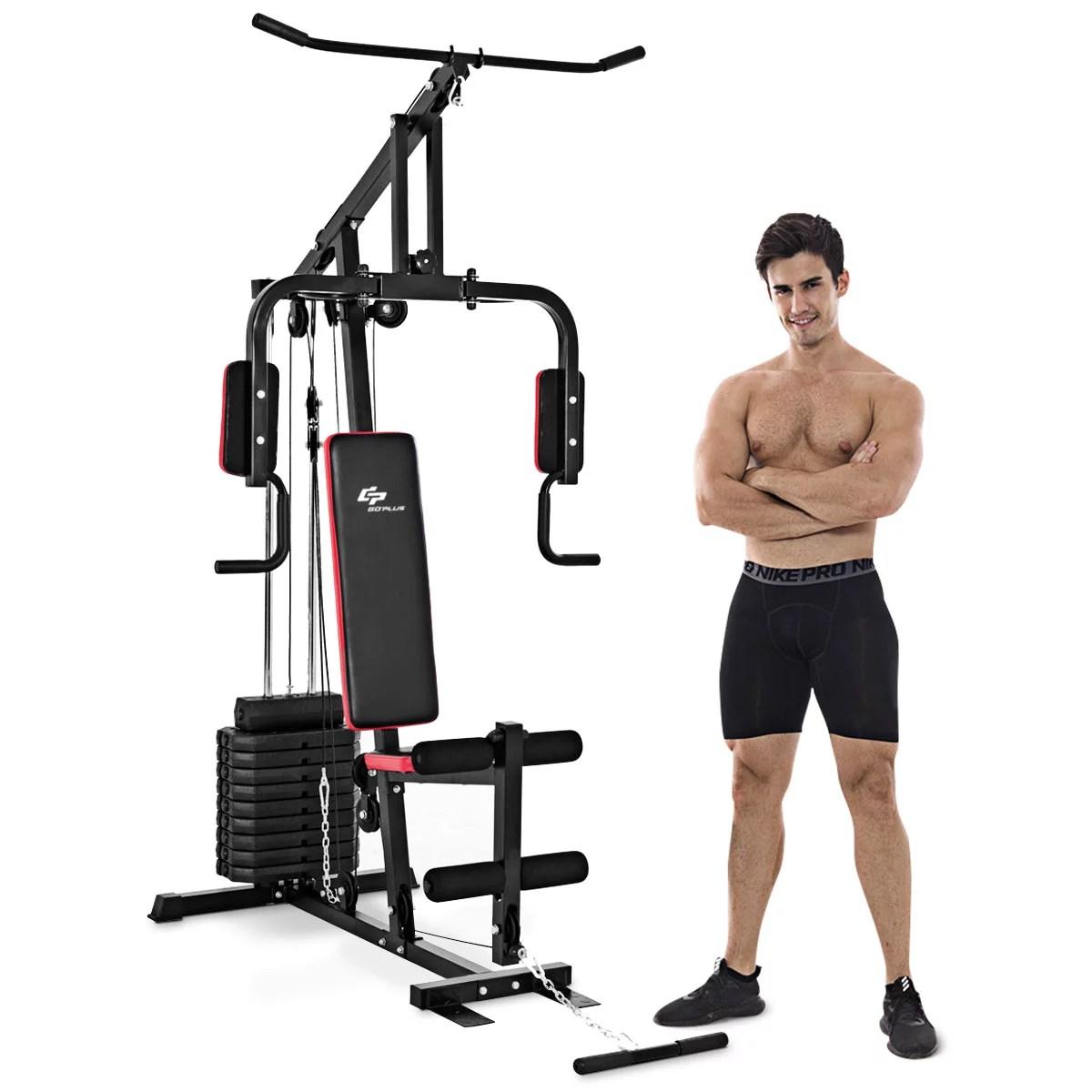 Costway Multifunction Cross Trainer Workout Machine ...