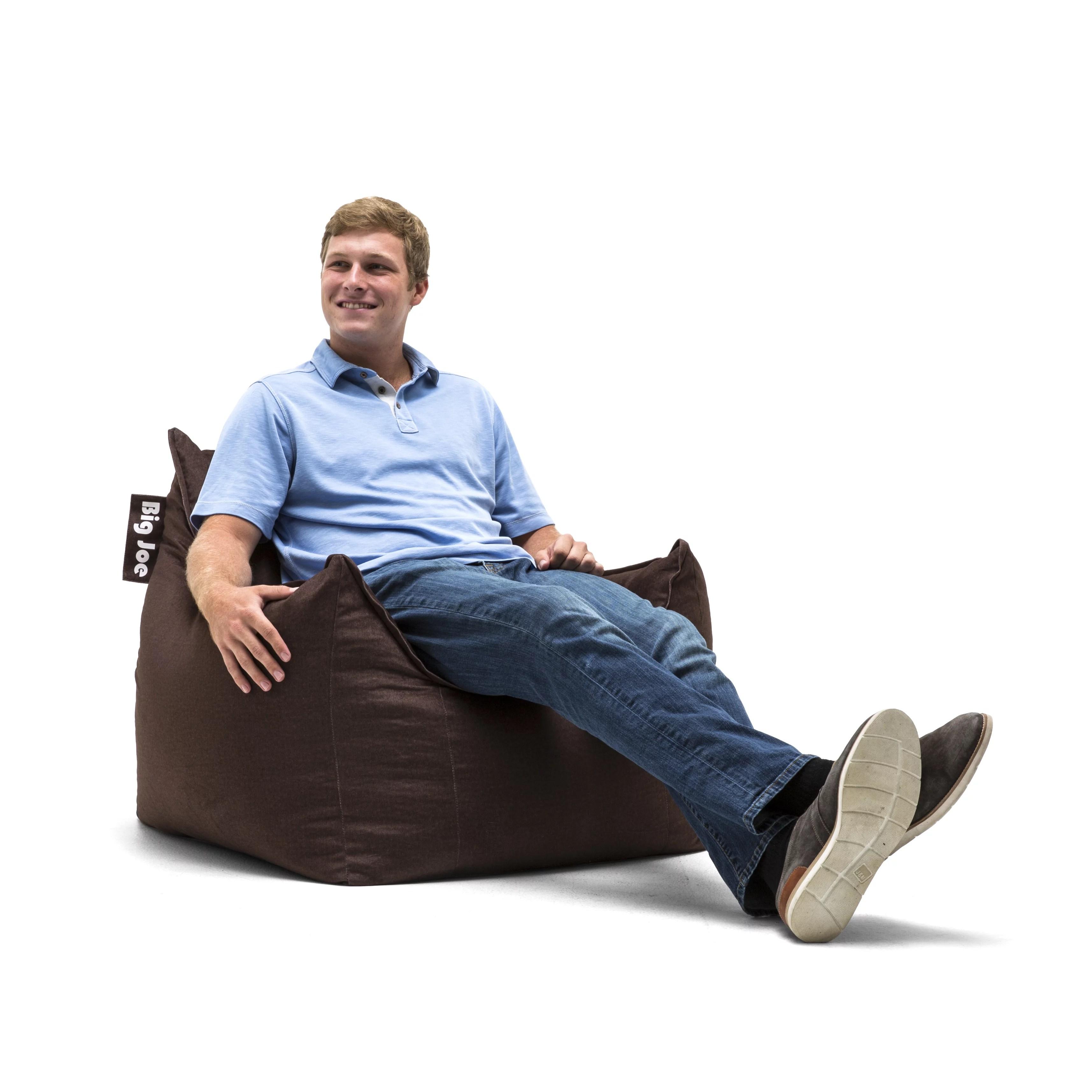 big joe chairs walmart black wire chair mitten bean bag