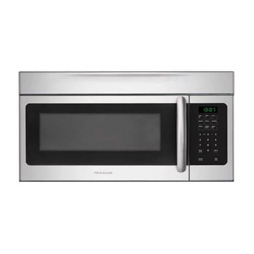 frigidaire ffmv164ls 1 6 cu ft over the range microwave oven silver walmart com