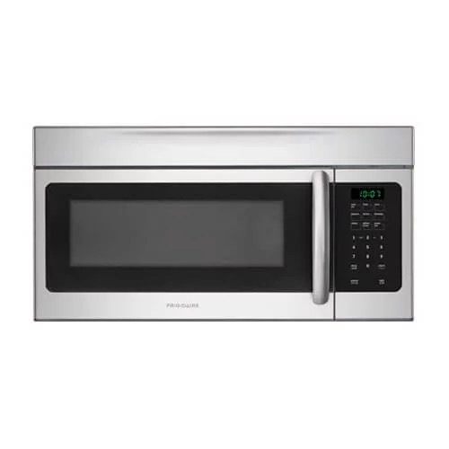 frigidaire ffmv164ls 1 6 cu ft over the range microwave oven silver
