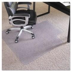 Desk Chair Mat For High Pile Carpet Lounge Living Room Es Robbins Performance Series 45 X 53 Rectangular With Lip Walmart Com