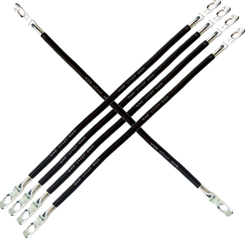 medium resolution of club car ds 36v electric 81 6g awg 5 12 golf cart battery cable set walmart com