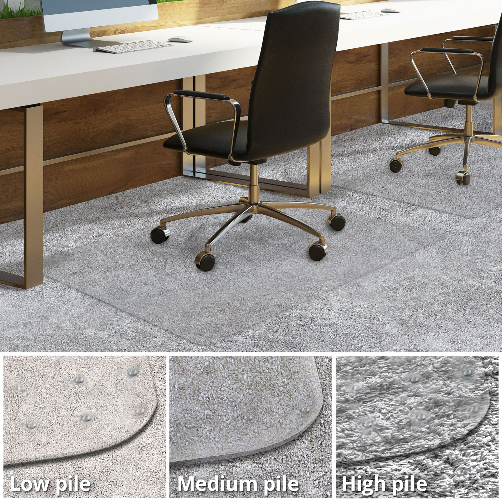 Desk Chair Mats Office Chair Mat For Carpeted Floors Desk Chair Mat For