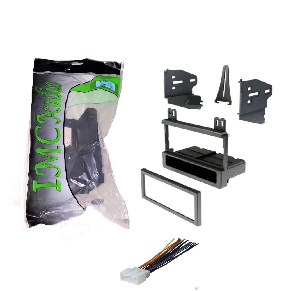 medium resolution of 2004 ford f 150 dash kit single din and wire harness for stereo replacement install heritage only walmart com