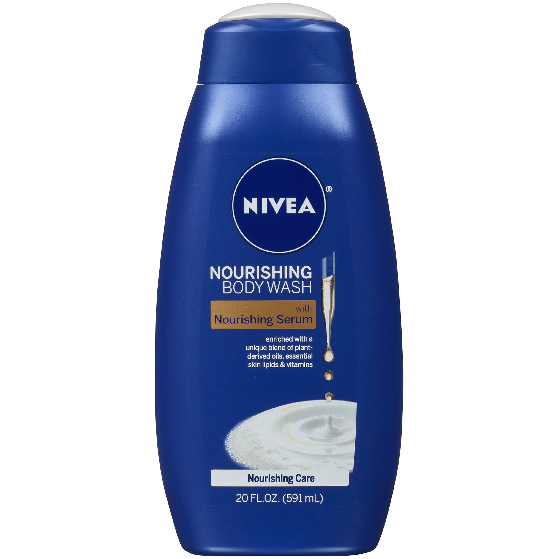 NIVEA Nourishing Care Body Wash with Nourishing Serum 20 ...