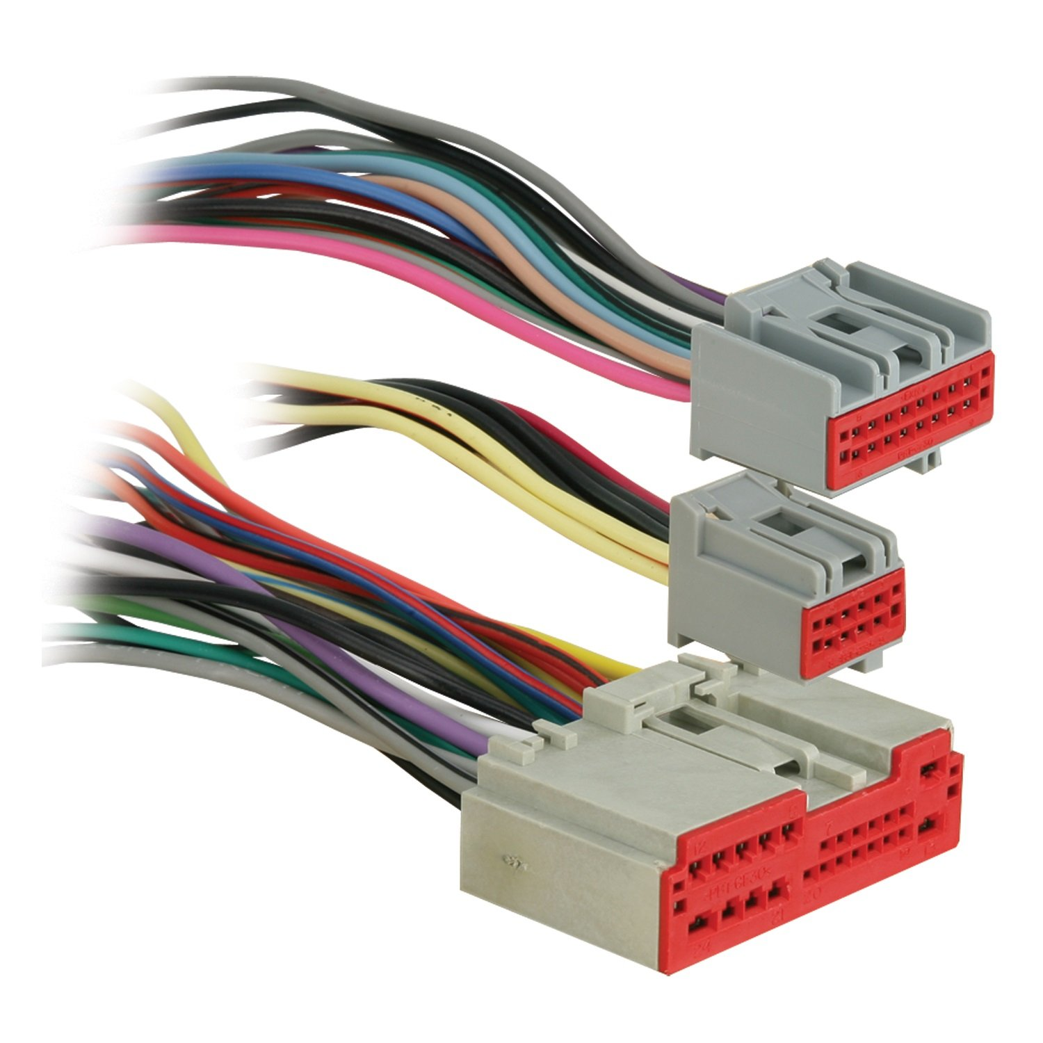 hight resolution of metra reverse wiring harness 71 5520 1 for select 2003 up ford lincoln mercury vehicles oem premium audio walmart com