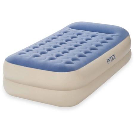 Intex Twin 18 Dura Beam Standard Raised Pillow Rest Airbed Mattress