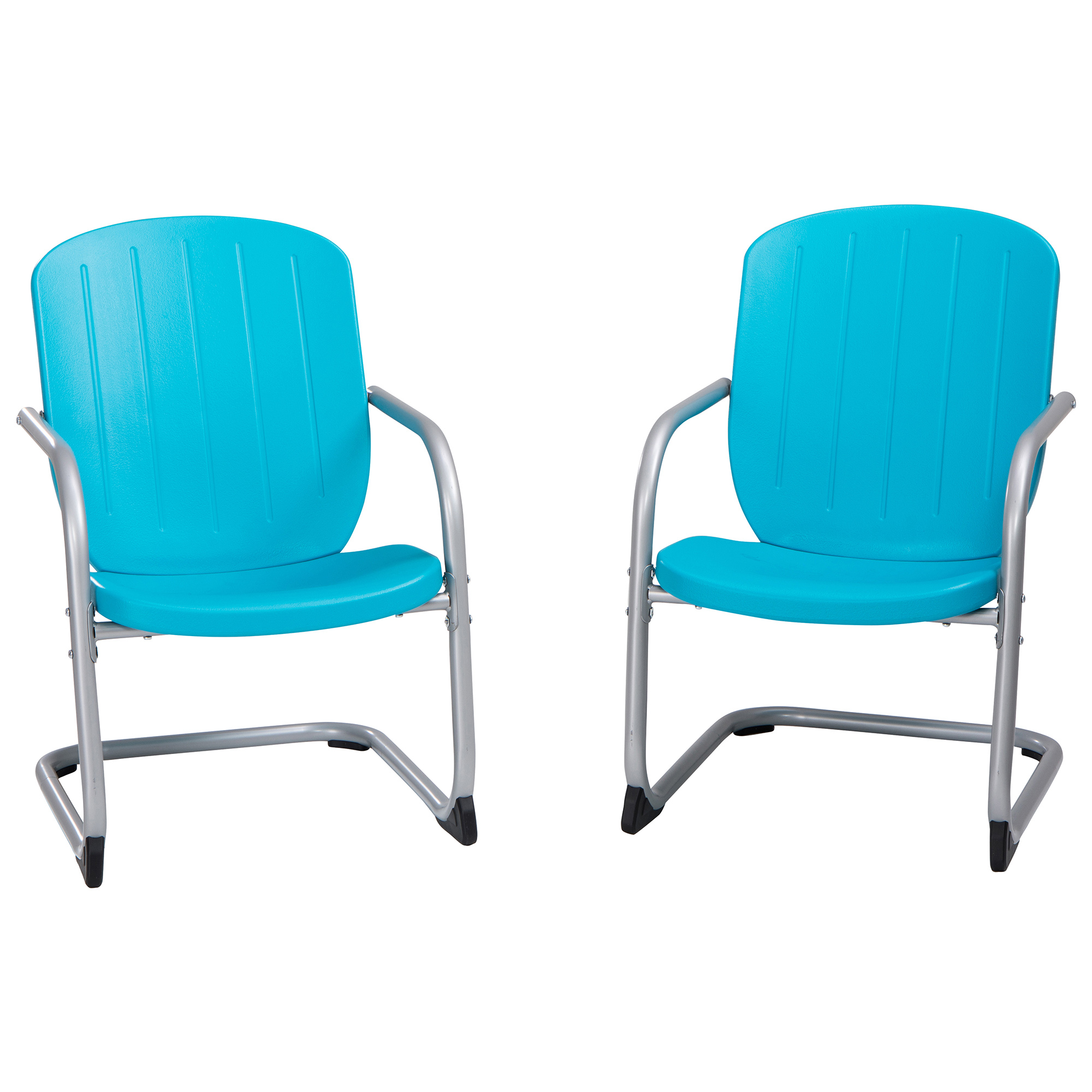 Lifetime Chair Lifetime Retro Patio Chair 2 Pack Blue 60161