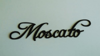 Moscato Wine Word Metal Wall Art - Walmart.com