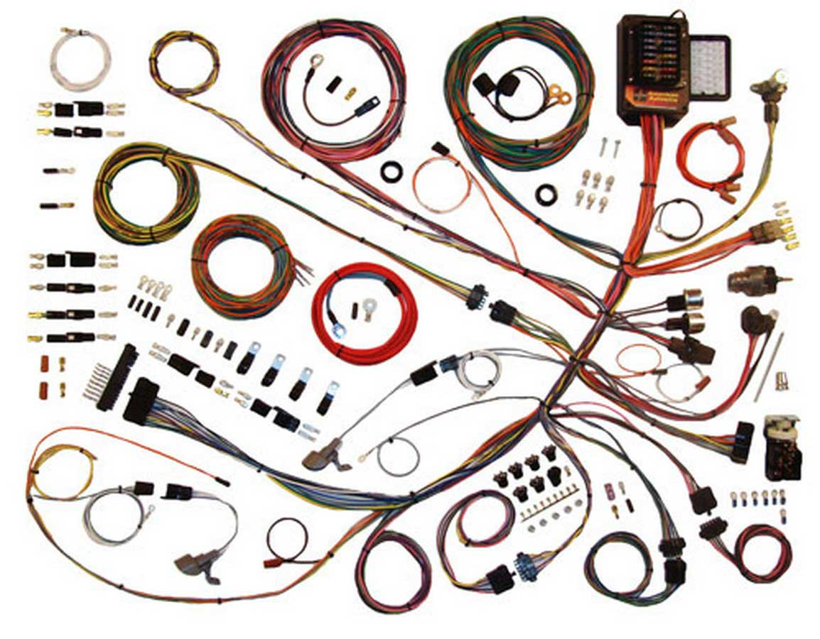 hight resolution of american autowire wiring system ford truck 1961 66 kit p n 510260 walmart com