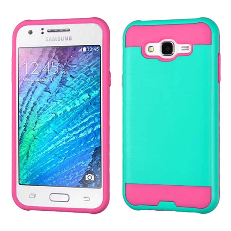 For Samsung Galaxy J7 (2015) Phone Case. Samsung Galaxy J7 (2015) Case. by Insten Hard Hybrid Rubber Coated 2-Layer Case For Samsung Galaxy J7 ...