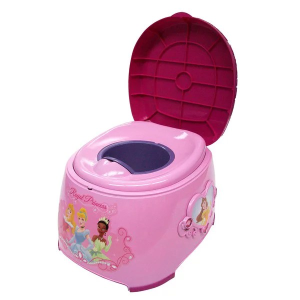 3 in 1 potty chair small white chairs disney princess trainer pink walmart com