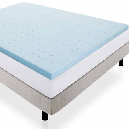 Lucid 2 Gel Infused Ventilated Memory Foam Mattress Topper