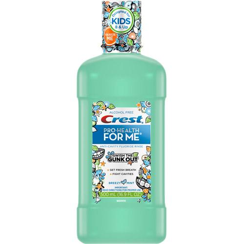Crest Pro-Health for Me Breezy Mint Oral Rinse 16.9 fl oz ...